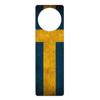 swedish flag door hanger
