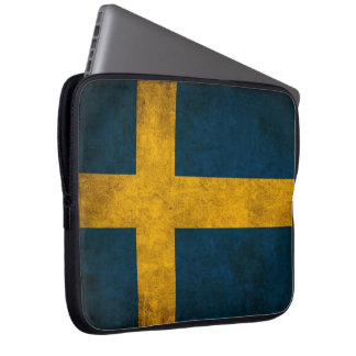 swedish flag laptop sleeve