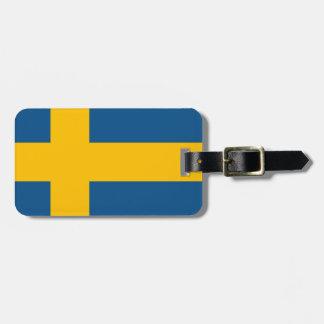 Swedish Flag Bag Tags