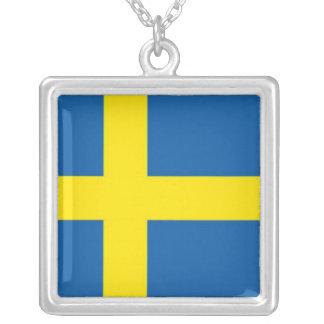 Swedish Flag Necklaces