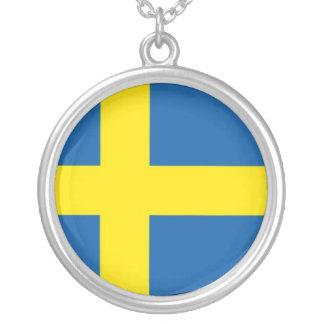 Swedish Flag Pendants