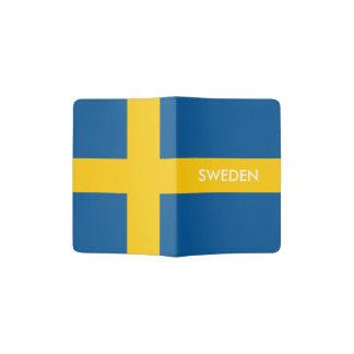Swedish flag passport holder   Sweden pride