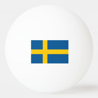 Swedish flag ping pong balls for table tennis