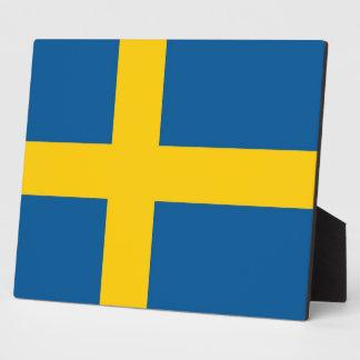 Swedish Flag Plaque