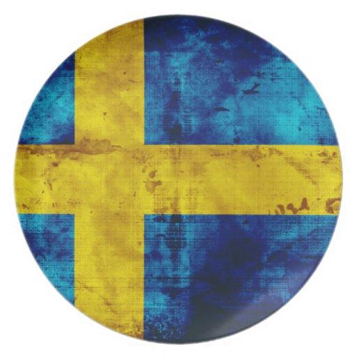 Swedish Flag Plates