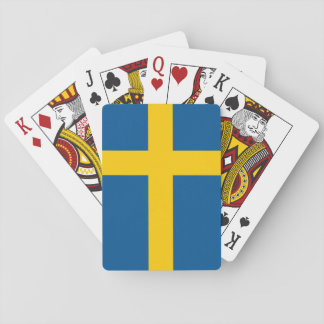 Swedish* Flag Playing Cards