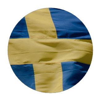 Swedish flag poker chips set