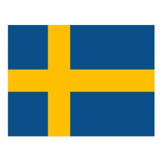 Swedish Flag Postcard