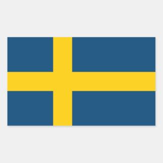 Swedish Flag Rectangular Sticker