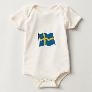 Swedish Flag Rompers