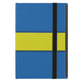Swedish Flag Scandinavian National Emblem Case For iPad Mini