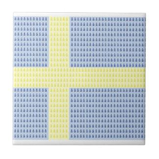Swedish Flag w å + filler - Tile (L)
