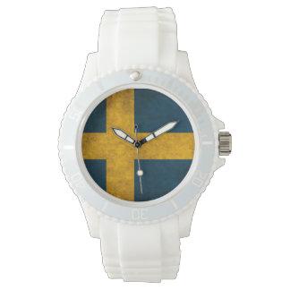 swedish flag wristwatches