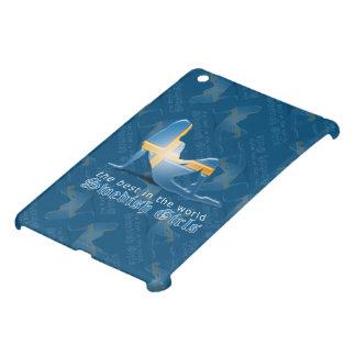 Swedish Girl Silhouette Flag iPad Mini Cover
