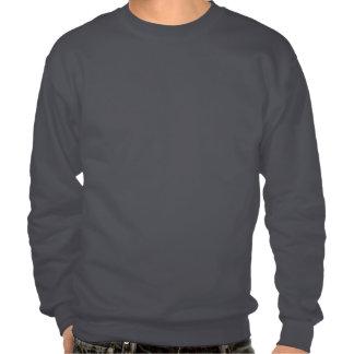 Swedish Girl Silhouette Flag Sweatshirt
