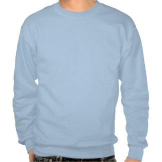 Swedish Girl Silhouette Flag Pullover Sweatshirts