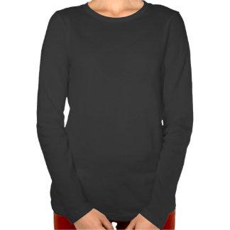 Swedish Girl Silhouette Flag T Shirts