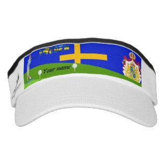 Swedish golfer visor