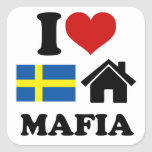 Swedish House Music Square Stickers