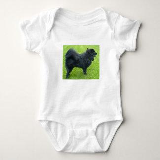 swedish lapphund full baby bodysuit