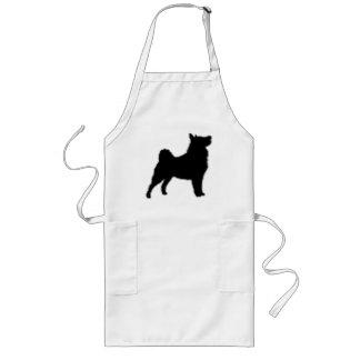swedish lapphund silhouette long apron