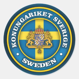 Swedish Medallion Classic Round Sticker