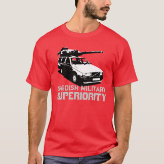 Swedish Military Superiourity T-Shirt