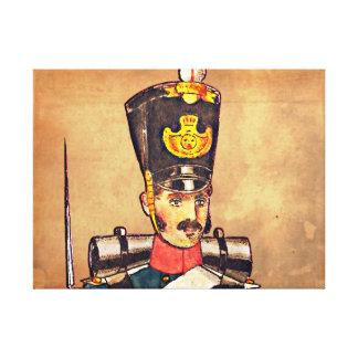Swedish Military uniform's, 1834 post offices #3 Canvas Print