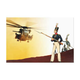 Swedish Military uniform's, 1834 post offices #4 Gallery Wrap Canvas