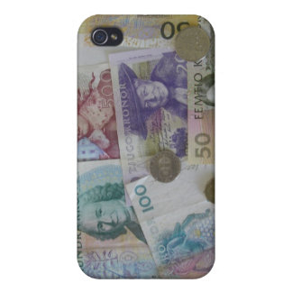 Swedish Money Kronor iPhone 4Speck Case iPhone 4 Cover