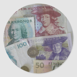 Swedish Money Sticker