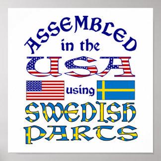 Swedish Parts Poster