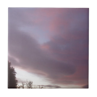 Swedish Sky At Sunrise Ceramic Tiles
