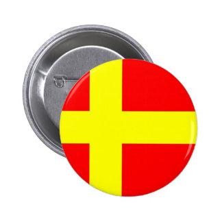 Swedish speaking Finns ethnic flag scandinavia Pinback Buttons