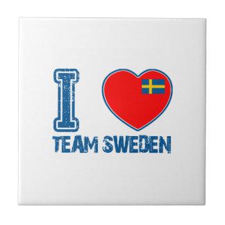 SWEDISH sport designs Ceramic Tile
