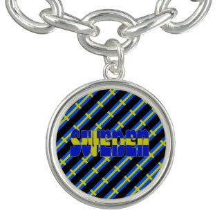 Swedish stripes flag