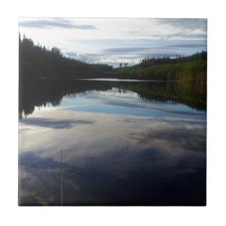 Swedish stunning lake tile