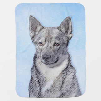Swedish Vallhund Baby Blanket