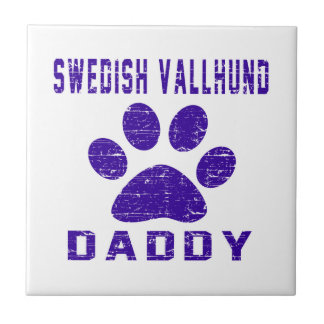 Swedish Vallhund Daddy Gifts Designs Tiles