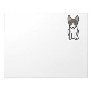 Swedish Vallhund Dog Cartoon Notepad