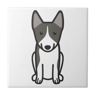 Swedish Vallhund Dog Cartoon Tiles