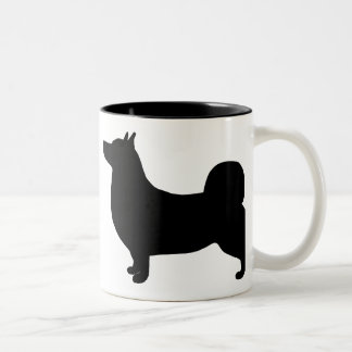 Swedish Vallhund Gear Two-Tone Coffee Mug