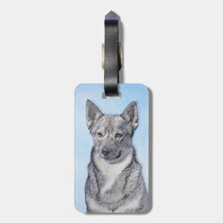 Swedish Vallhund Luggage Tag