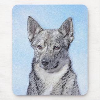 Swedish Vallhund Painting - Cute Original Dog Art Mouse Pad
