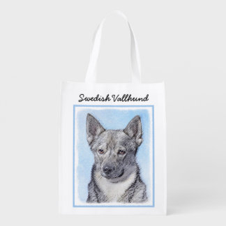 Swedish Vallhund Reusable Grocery Bag
