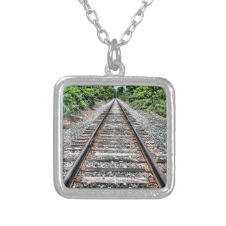 Sweedler Preserve Rail Silver Plated Necklace