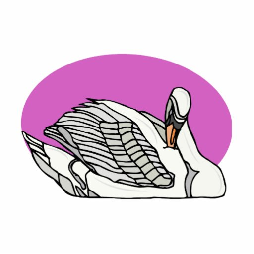 Sweemer Swan Photo Cut Outs