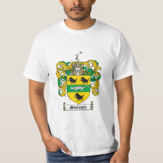 Sweeney Family Crest - Sweeney Coat of Arms T-Shirt