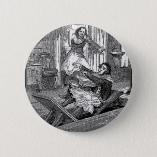 Sweeney Todd-Barbers Chair-Penny Dreadful 6 Cm Round Badge
