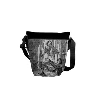 Sweeney Todd-Barbers Chair-Penny Dreadful Mini Bag Commuter Bag